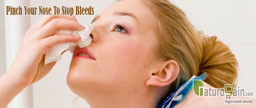 Pinch Your Nose to Stop Bleeds