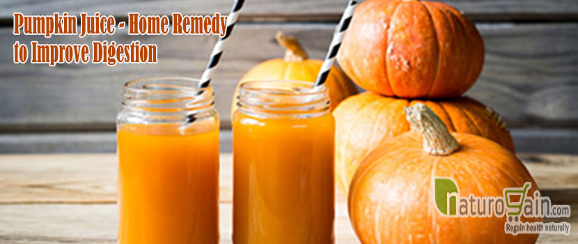 Pumpkin Juice Remedy to Improve Digestion
