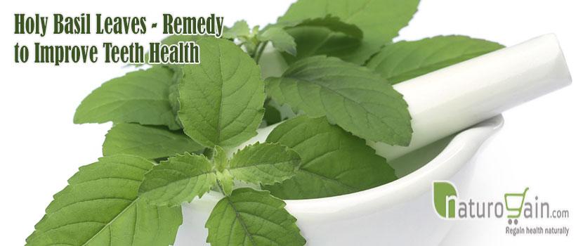 Remedy to Improve Teeth Health