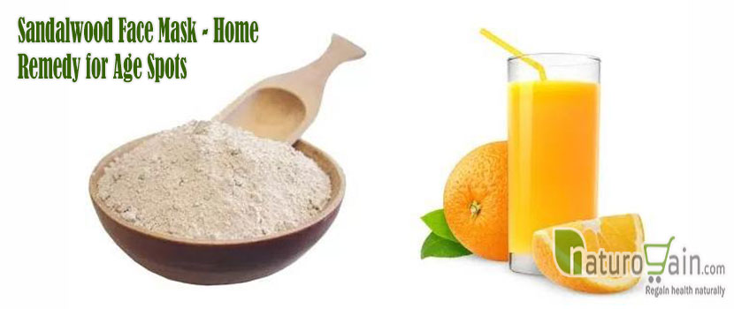 Sandalwood Face Mask Home Remedy for Age Spots