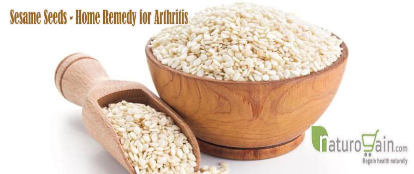 Sesame Seeds Home Remedy for Arthritis