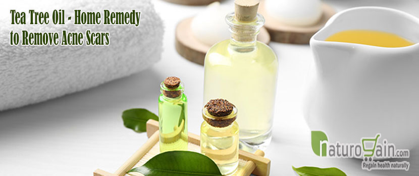 Tea Tree Oil Remedy to Remove Acne Scars
