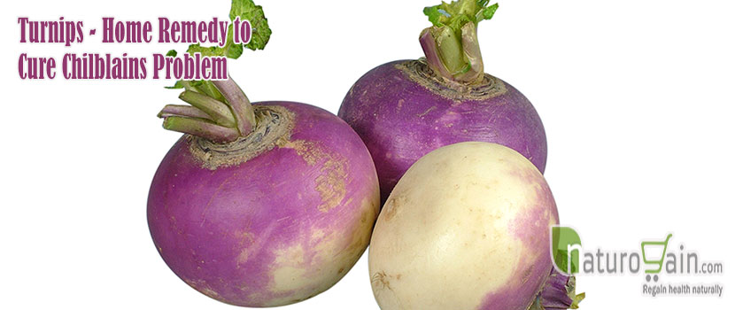 Turnips Home Remedy to Cure Chilblains Problem
