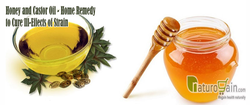 Honey and Castor Oil