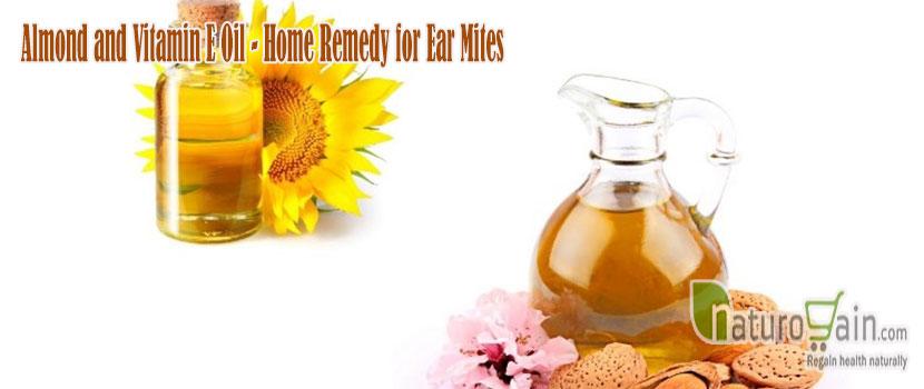 Almond and Vitamin Oil