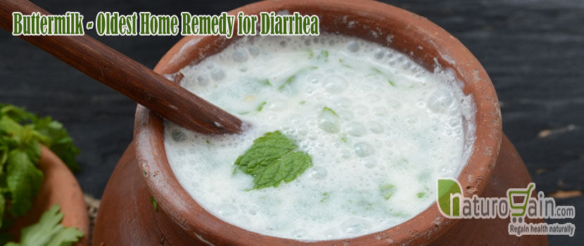 Buttermilk Home Remedy for Diarrhea