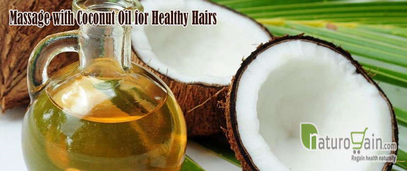 Coconut Oil for Healthy Hairs