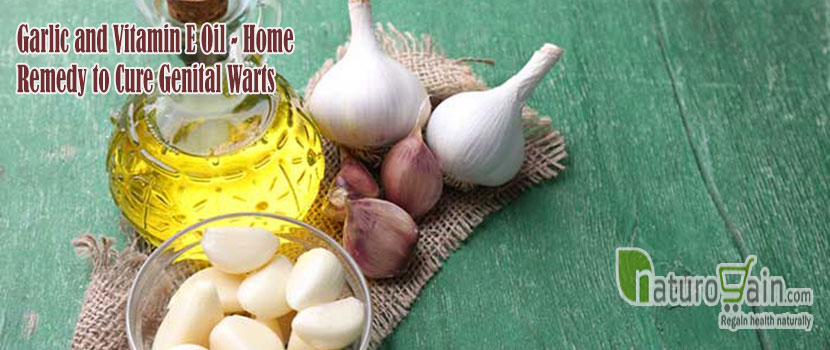Garlic and Vitamin E Oil