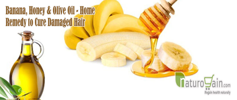 Home Remedy to Cure Damaged Hair