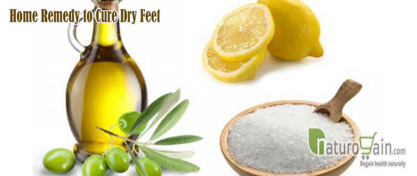 Home Remedy to Cure Dry Feet