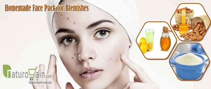 Homemade Face Pack for Blemishes