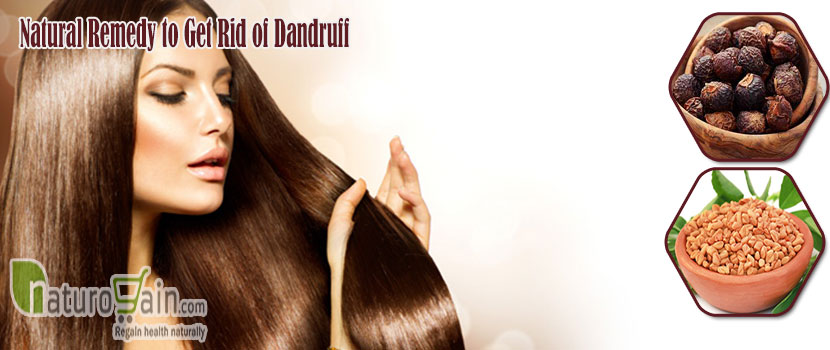 Natural Remedy to Get Rid of Dandruff
