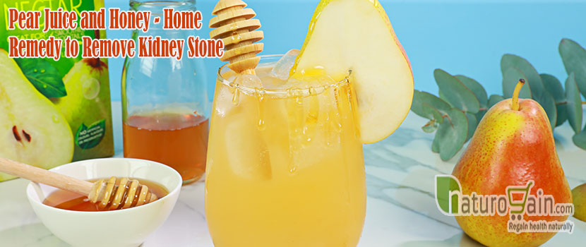 Pear Juice and Honey