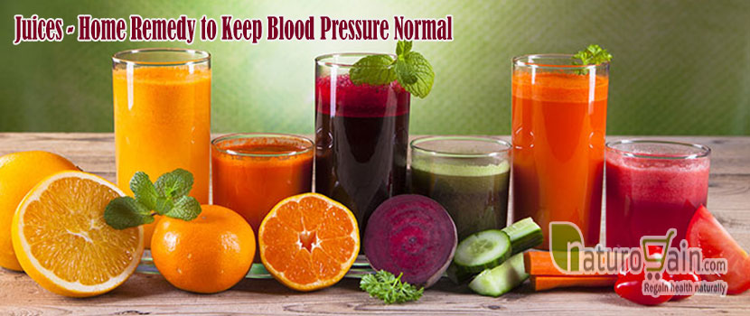 Remedy to Keep Blood Pressure Normal