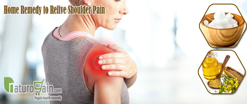 Remedy to Relieve Shoulder Pain