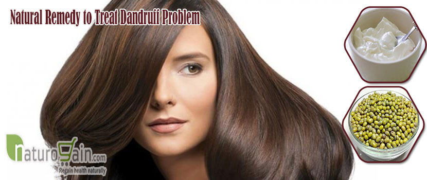 Remedy to Treat Dandruff Problem
