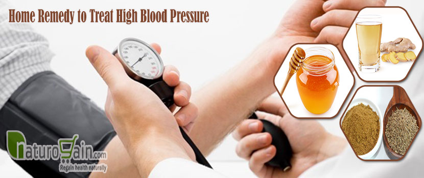 Remedy to Treat High Blood Pressure