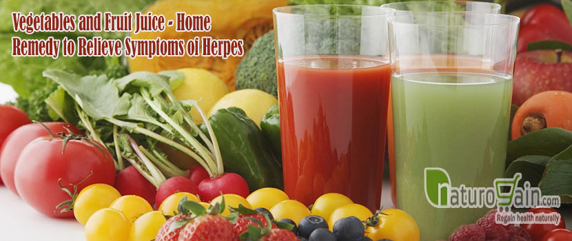 Vegetables and Fruit Juice