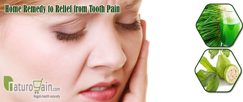 Home Remedy to Relief From Tooth Pain