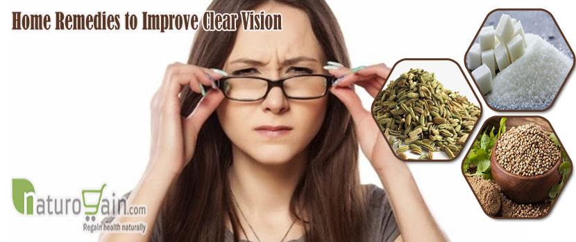 Remedies to Improve Clear Vision