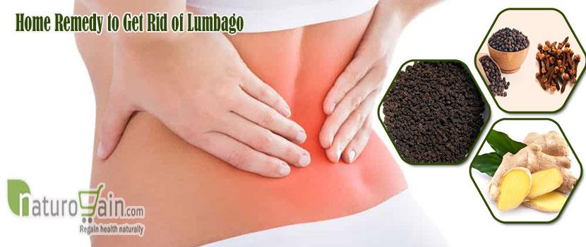 Remedy to Get Rid of Lumbago
