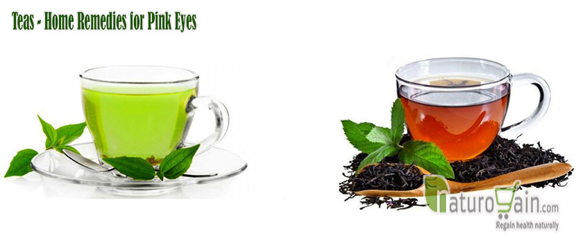 Teas Home Remedies for Pink Eyes