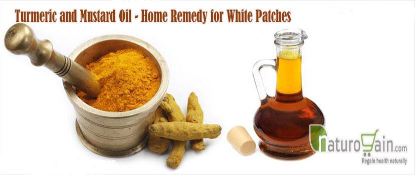 Turmeric and Mustard Oil