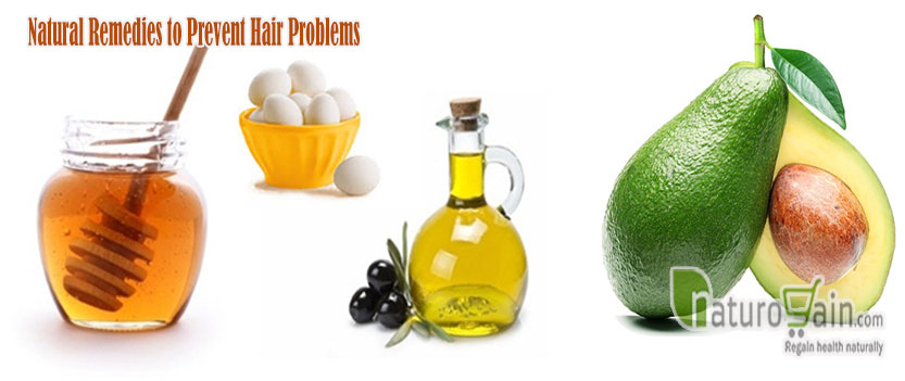 Natural Remedies to Prevent Hair Problems