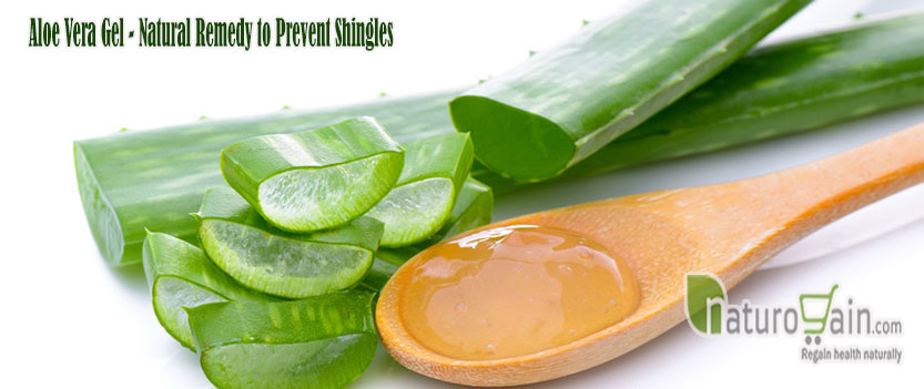 Natural Remedies For Shingles Using Aloe Vera
