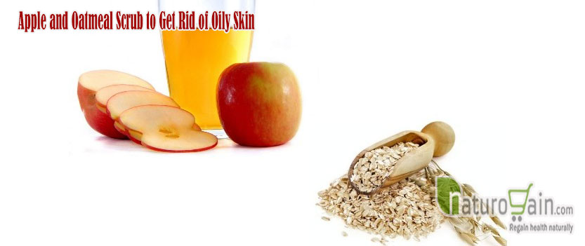 Apple and Oatmeal Scrub