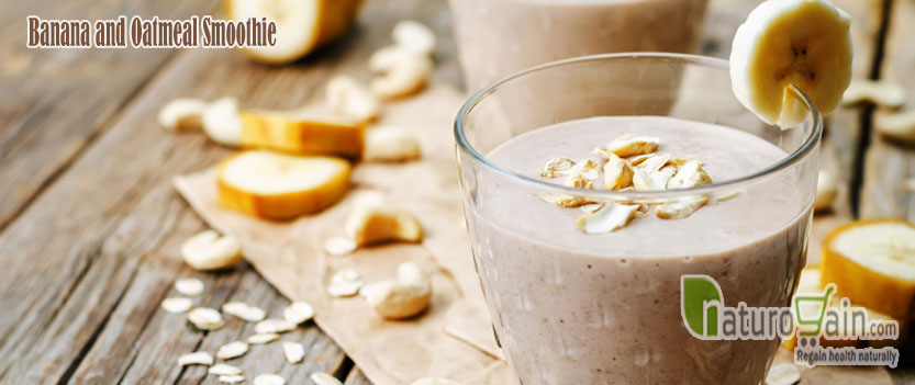 Banana and Oatmeal Smoothie