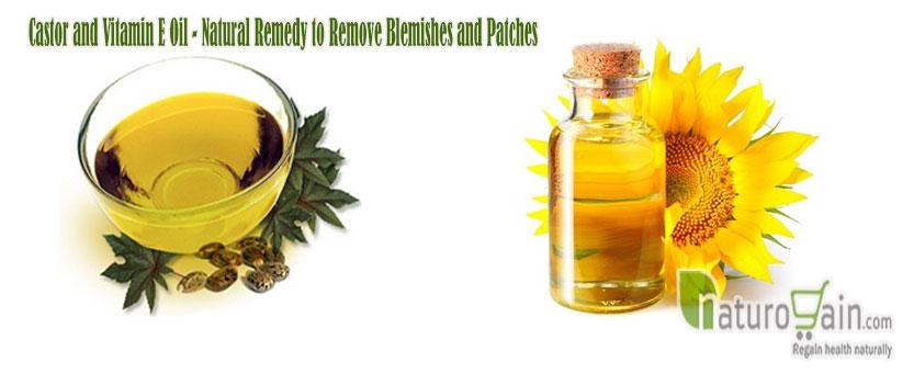 Castor and Vitamin E Oil