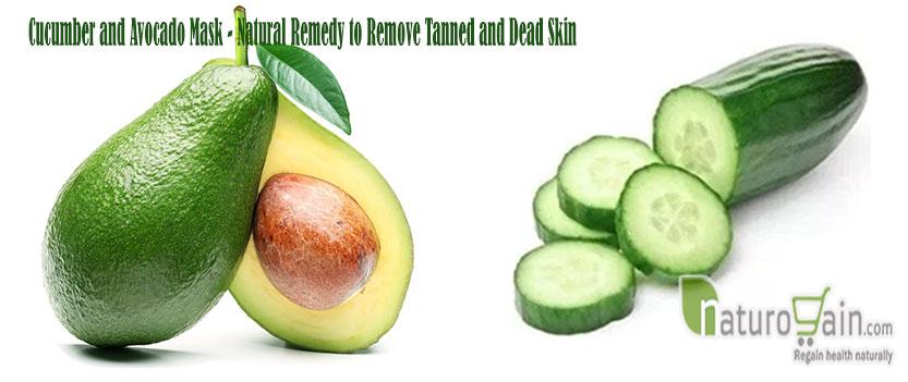 Cucumber and Avocado
