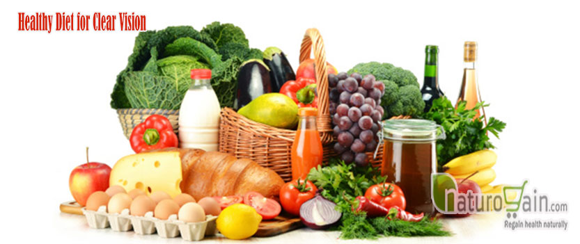 Healthy Diet for Clear Vision