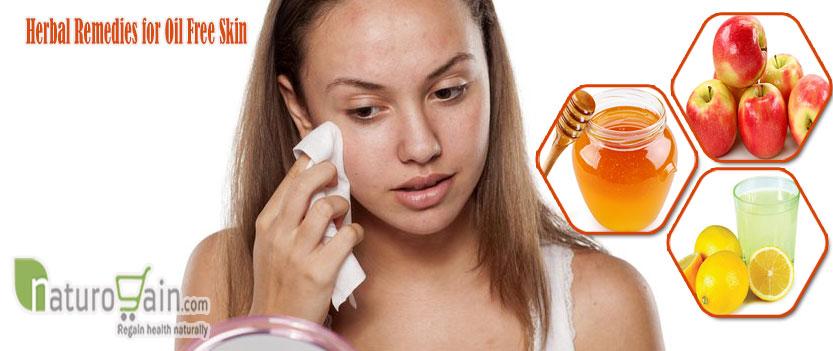 Herbal Remedies for Oil Free Skin
