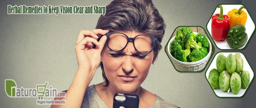 Herbal Remedies to Keep Vision Clear