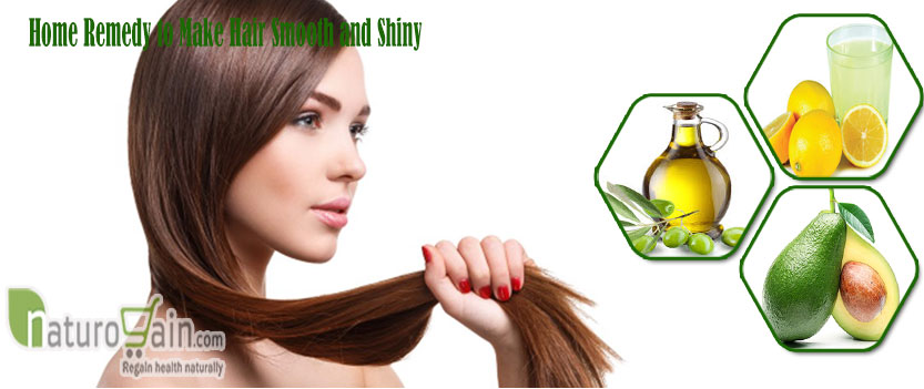 Home Remedy to Make Hair Smooth and Shiny