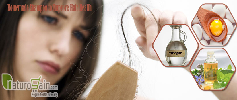 Homemade Shampoo to Improve Hair Health