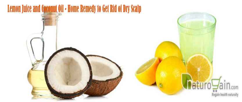 Lemon Juice and Coconut Oil
