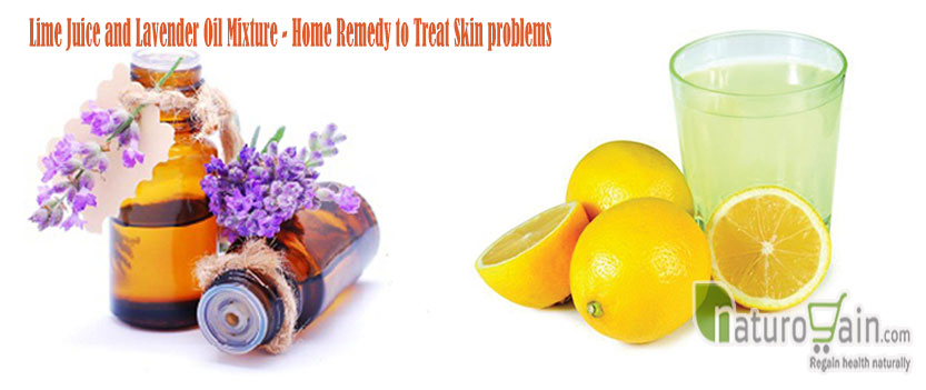 Lime Juice and Lavender Oil