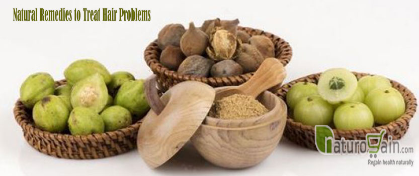 Natural Remedies to Treat Hair Problems