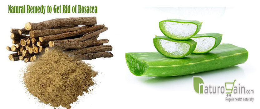 Natural Remedy to Get Rid of Rosacea