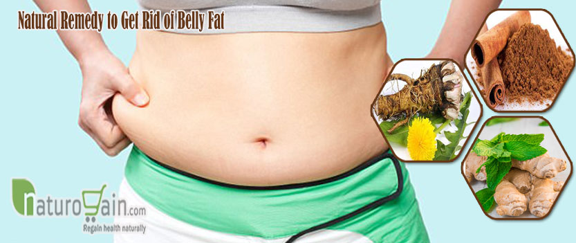 Natural Remedy to Get Rid of Belly Fat