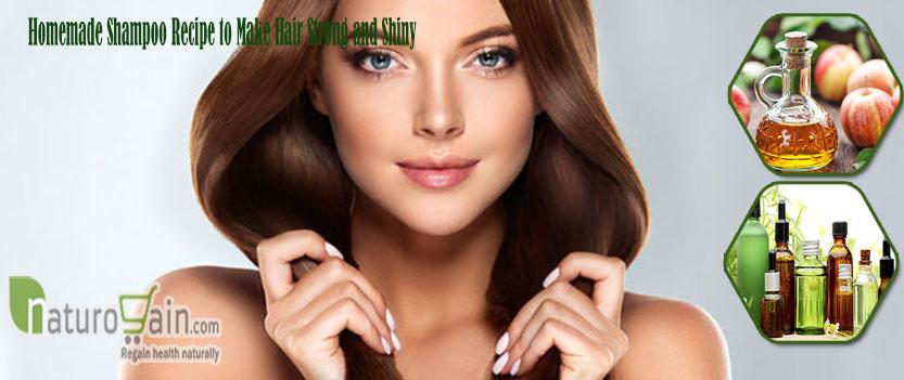 Shampoo Recipe to Make Hair Strong and Shiny