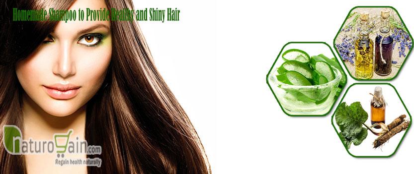 Shampoo to Provide Healthy and Shiny Hair