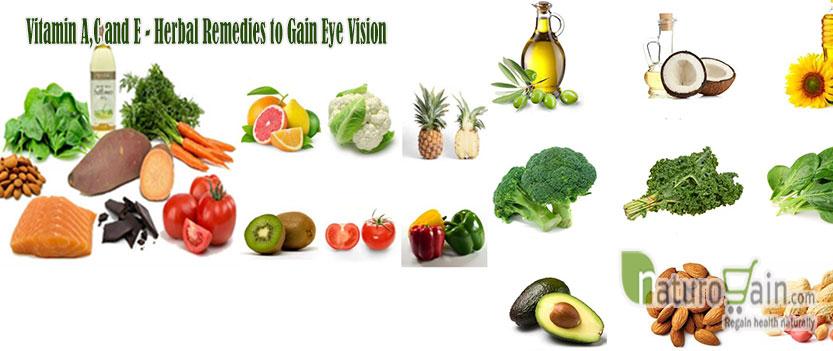 Vitamin A C and E