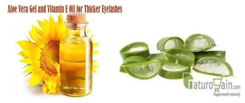 Aloe Vera Gel and Vitamin Oil