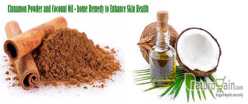 Cinnamon Powder and Coconut Oil