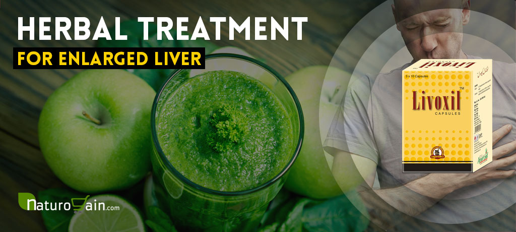 Herbal Treatment for Enlarged Liver