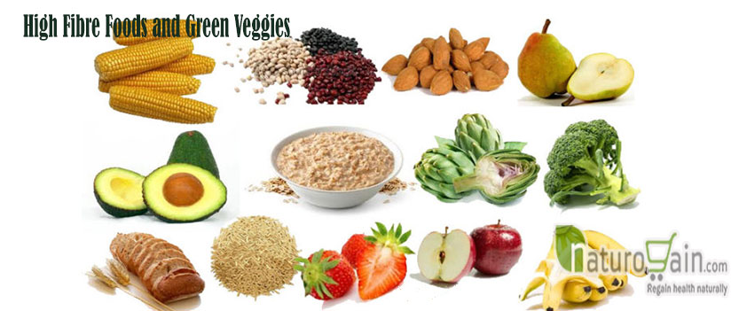 High Fibre Foods and Green veggies